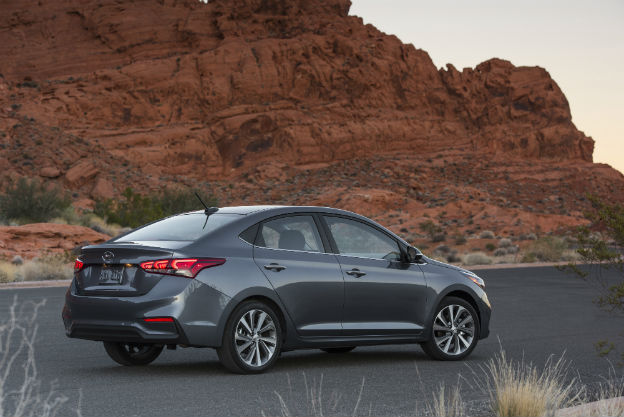 2019 Hyundai Accent Power And Gas Mileage Ratings