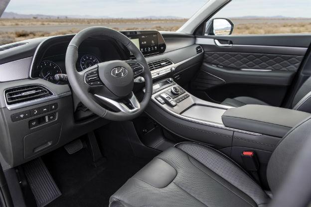 front interior of a 2020 Hyundai Palisade