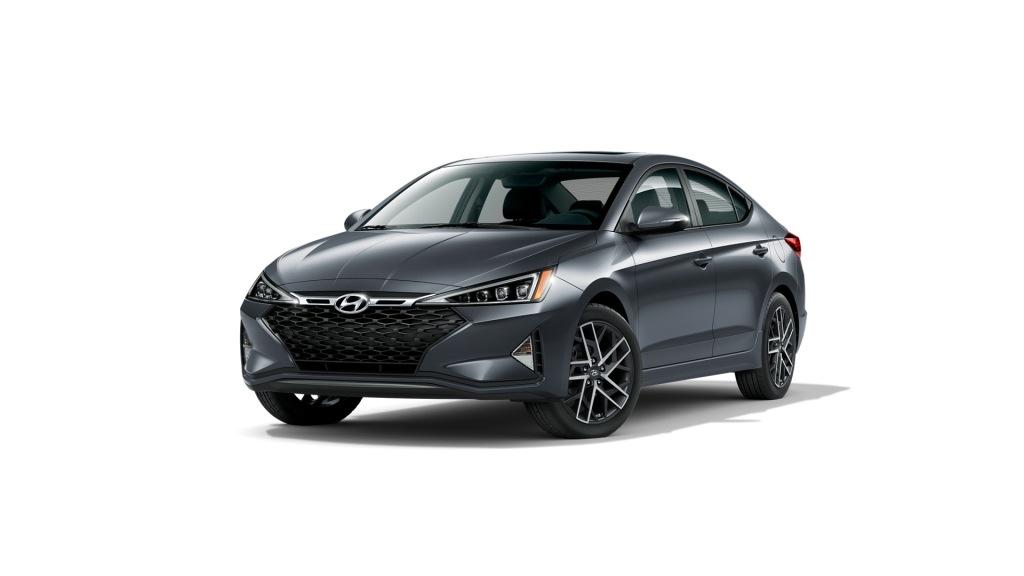 Gray 2020 Hyundai Elantra