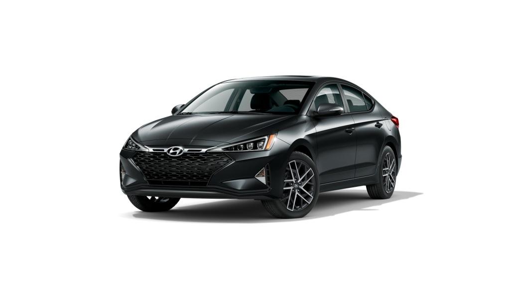 Black 2020 Hyundai Elantra