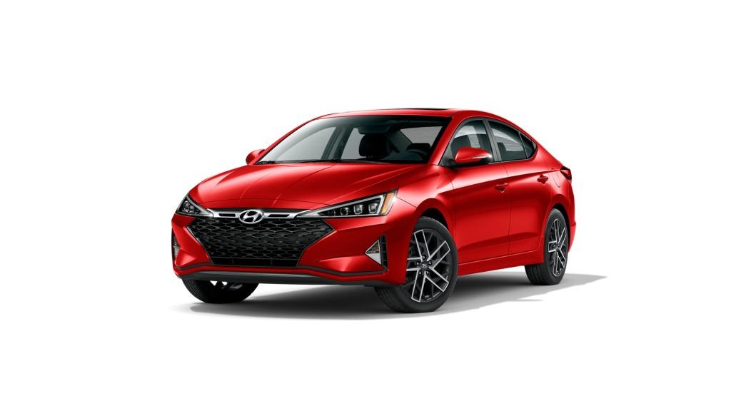 Red 2020 Hyundai Elantra
