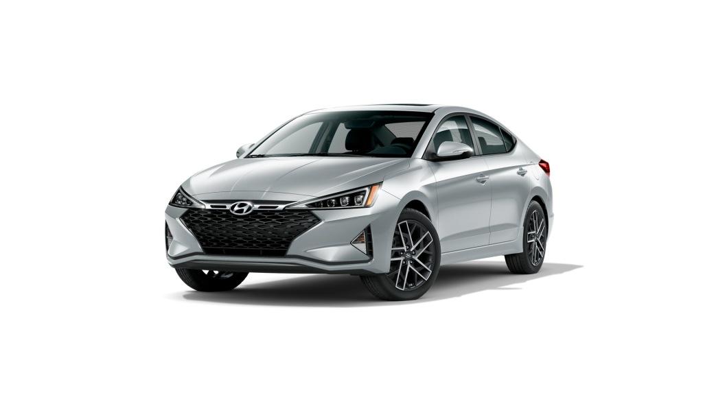 Silver 2020 Hyundai Elantra
